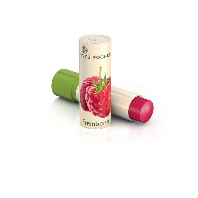 תמונת מוצר - שפתון לחות להזנת השפתיים בטעם פטל מסדרת Baume Levres Soin - מחיר המוצר 19.0000 ש״ח