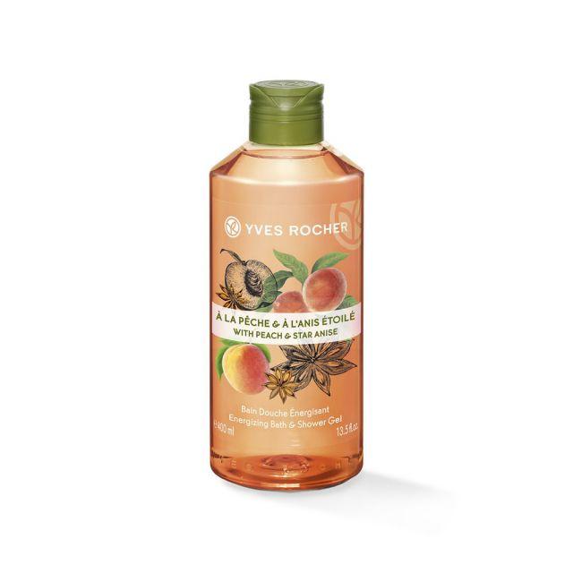 תמונת מוצר - ג׳ל רחצה עונג הטבע אפרסק וכוכב אניס מסדרת Plaisirs Nature 2 - מחיר המוצר 25.0000 ש״ח