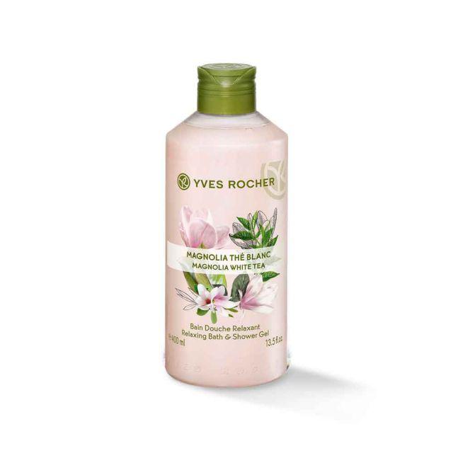 תמונת מוצר - ג׳ל רחצה מרגיע בניחוח מגנוליה ותה לבן  גדול מסדרת Plaisirs Nature 2 - מחיר המוצר 25.0000 ש״ח