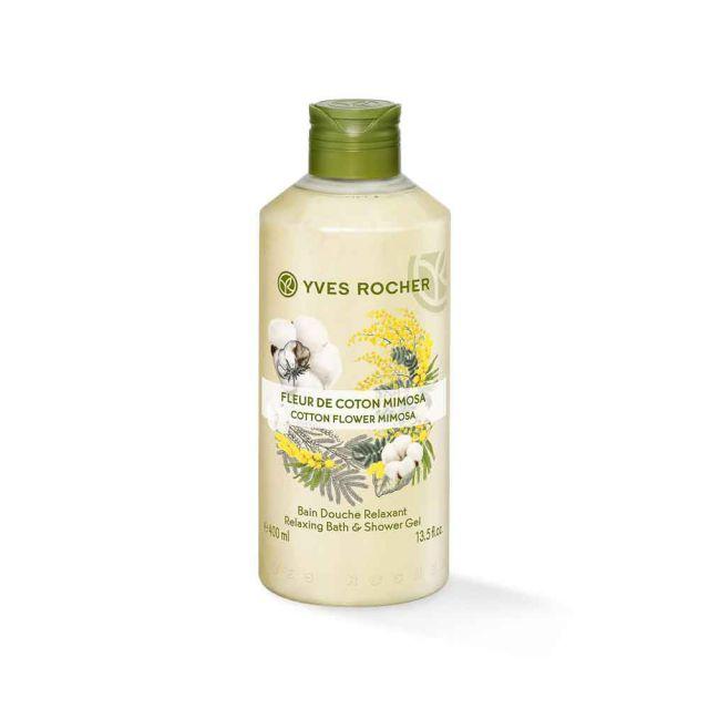 תמונת מוצר - ג׳ל רחצה מרגיע בניחוח כותנה ופרח המימוזה מסדרת Plaisirs Nature 2 - מחיר המוצר 25.0000 ש״ח