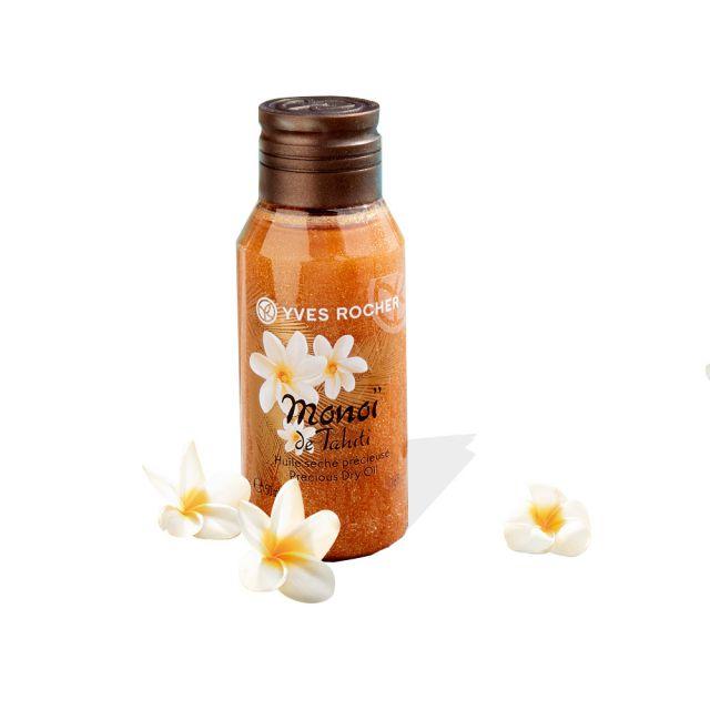 תמונת מוצר - שמן נצנצים לגוף יבש מטהיטי מוקטן מסדרת Monoi De Tahiti - מחיר המוצר 29.0000 ש״ח