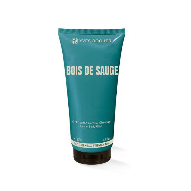 תמונת מוצר - שמפו וג'ל רחצה מבושם לגבר מסדרת Bois de sauge - מחיר המוצר 38.0000 ש״ח