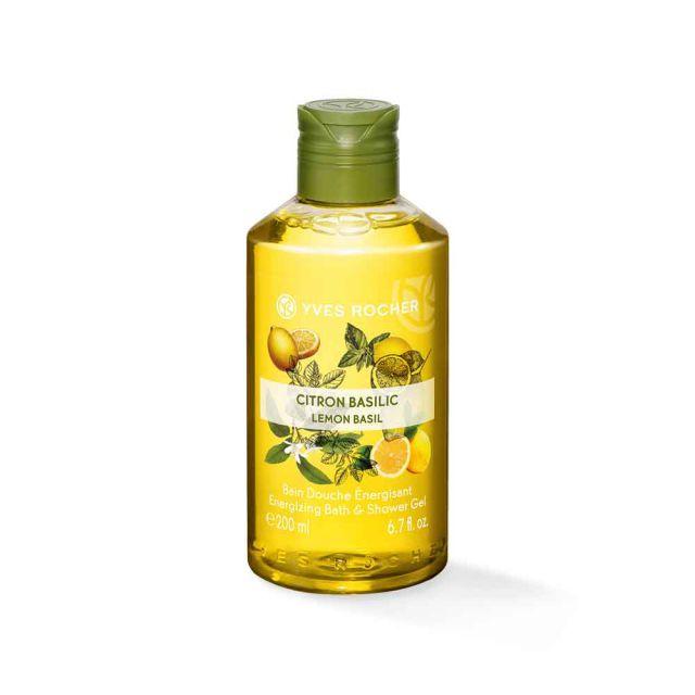 תמונת מוצר - ג׳ל רחצה ממריץ בניחוח לימון בזיליקום מסדרת Plaisirs Nature 2 - מחיר המוצר 17.0000 ש״ח