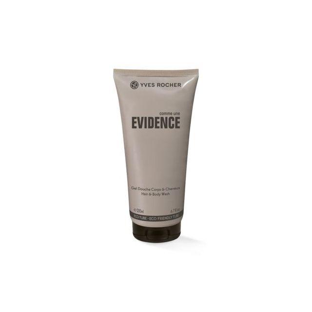 תמונת מוצר - ג׳ל רחצה לגוף ולשיער בניחוח אלגנטי מסדרת Evidence - מחיר המוצר 38.0000 ש״ח