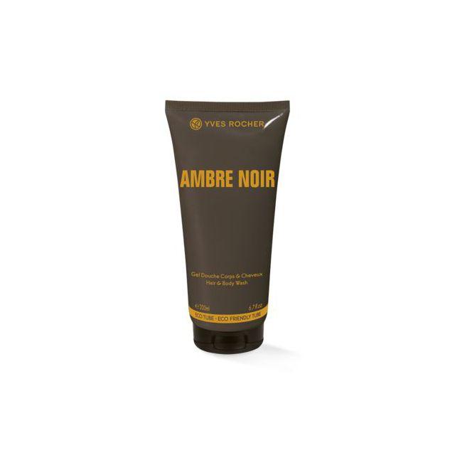 תמונת מוצר - ג׳ל רחצה מבושם לגבר בניחוח אוריינטלי מסדרת Ambre Noir - מחיר המוצר 38.0000 ש״ח