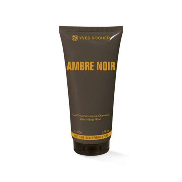 תמונת מוצר - ג'ל רחצה מבושם לגבר בניחוח אוריינטלי מסדרת Ambre Noir - מחיר המוצר 38.0000 ש״ח