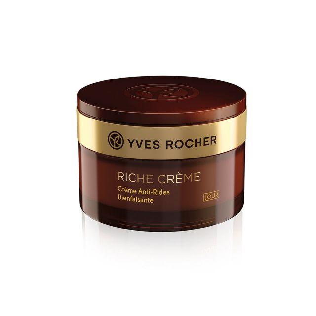תמונת מוצר - קרם יום אנטי אייג׳ מפחית קמטים מסדרת Riche Creme 2 - מחיר המוצר 219.0000 ש״ח