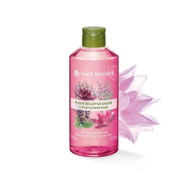 תמונת מוצר - ג'ל רחצה מרגיע בניחוח פרח הלוטוס ומרווה גדול מסדרת Plaisirs Nature 2 - מחיר המוצר 25.0000 ש״ח