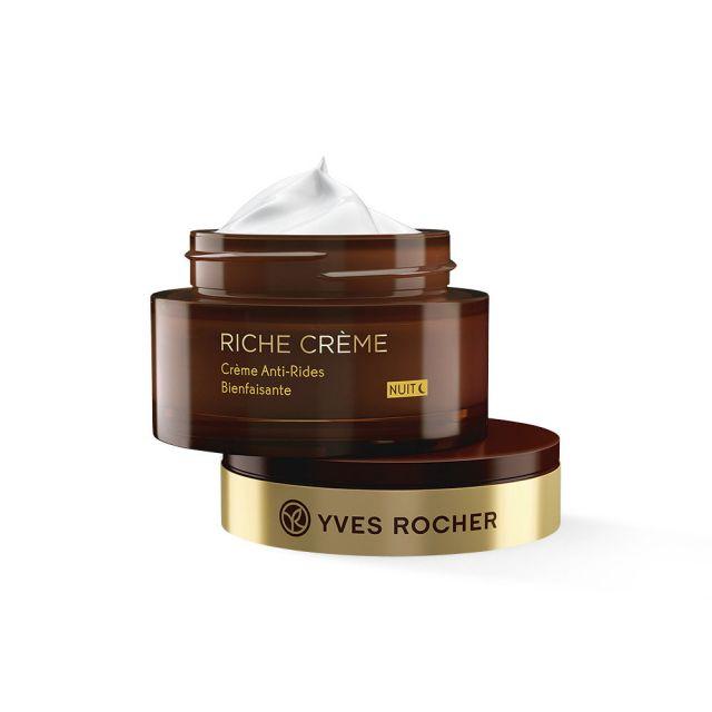 תמונת מוצר - קרם לילה אנטי אייג׳ להפחתת קמטים מסדרת Riche Creme 2 - מחיר המוצר 219.0000 ש״ח
