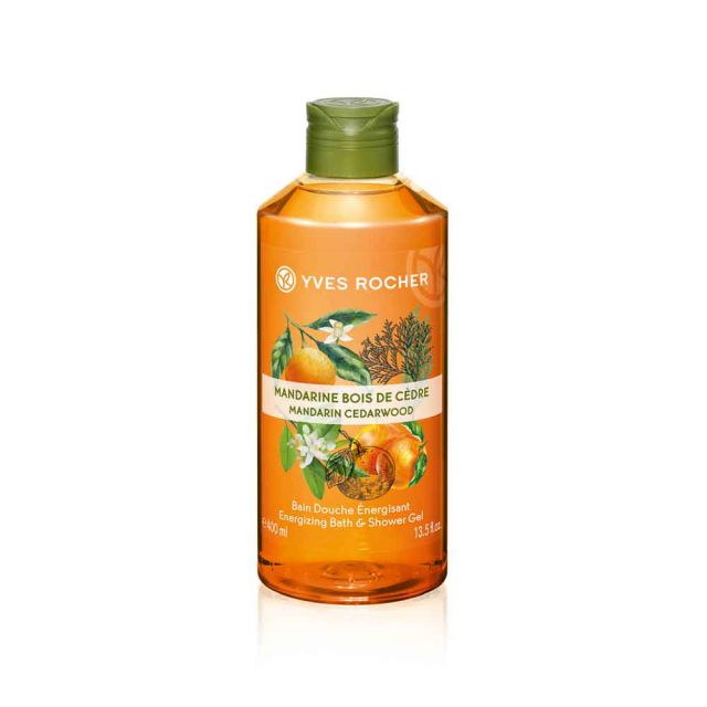 תמונת מוצר - ג׳ל רחצה עונג הטבע מנדרין ארז מסדרת Plaisirs Nature 2 - מחיר המוצר 25.0000 ש״ח