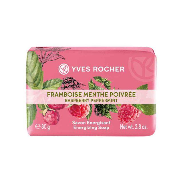 תמונת מוצר - סבון מוצק ממריץ בניחוח פטל ומנטה מסדרת Plaisirs Nature 2 - מחיר המוצר 11.0000 ש״ח