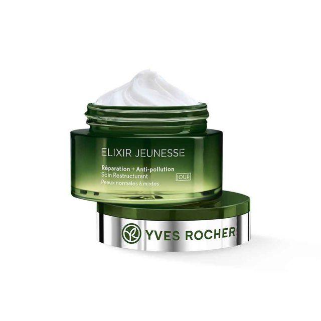 תמונת מוצר - קרם יום במרקם ג׳ל להגנה ושיקום העור מסדרת Elixir Jeunesse - מחיר המוצר 159.0000 ש״ח