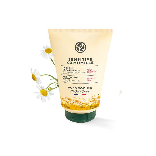 תמונת מוצר - תחליב ניקוי לפנים מועשר בקמומיל לעור רגיש מסדרת Sensitive Camomille - מחיר המוצר 69.0000 ש״ח