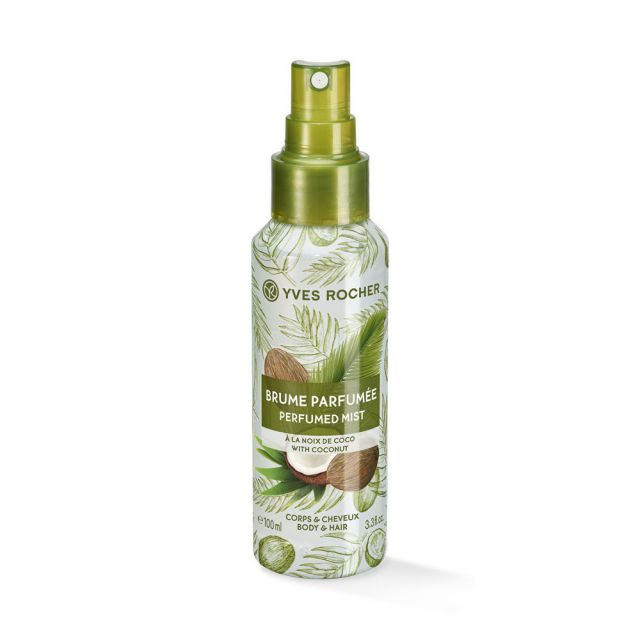 תמונת מוצר - ספריי מבושם לגוף ולשיער בניחוח קוקוס מסדרת Plaisirs Nature 2 - מחיר המוצר 49.0000 ש״ח