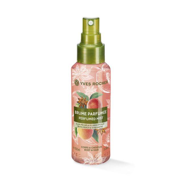 תמונת מוצר - ספריי מבושם לגוף ולשיער בניחוח אפרסק וכוכב אניס מסדרת Plaisirs Nature 2 - מחיר המוצר 49.0000 ש״ח