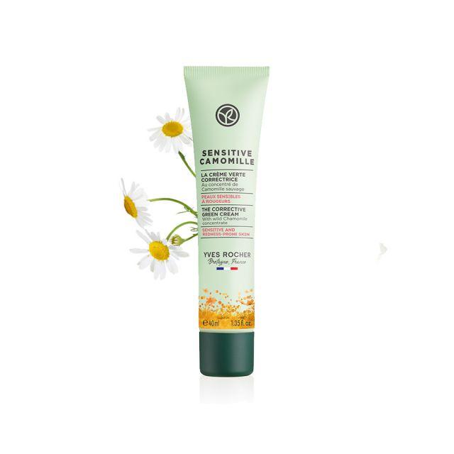 תמונת מוצר - קרם לחות להרגעת עור רגיש והסוואת אדמומיות מסדרת Sensitive Camomille - מחיר המוצר 119.0000 ש״ח