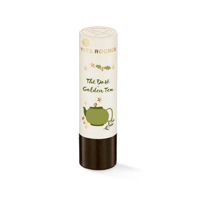 תמונת מוצר - שפתון לחות להזנת השפתיים בטעם גולדן תה מסדרת Baume Levres Soin - מחיר המוצר 19.0000 ש״ח