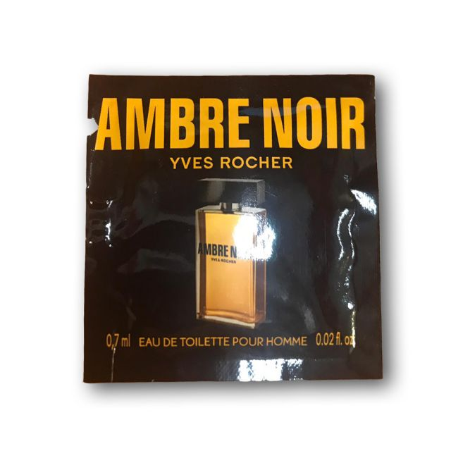 תמונת מוצר - דוגמית או דה טואלט אמבר נואר מסדרת Ambre Noir - מחיר המוצר 5.0000 ש״ח
