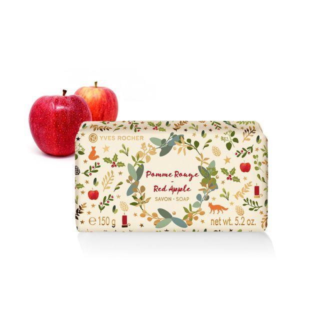 תמונת מוצר - סבון מוצק בניחוח תפוח אדום מהדורה מוגבלת מסדרת Rosh Hashana 2019- Limited Edition - מחיר המוצר 19.0000 ש״ח