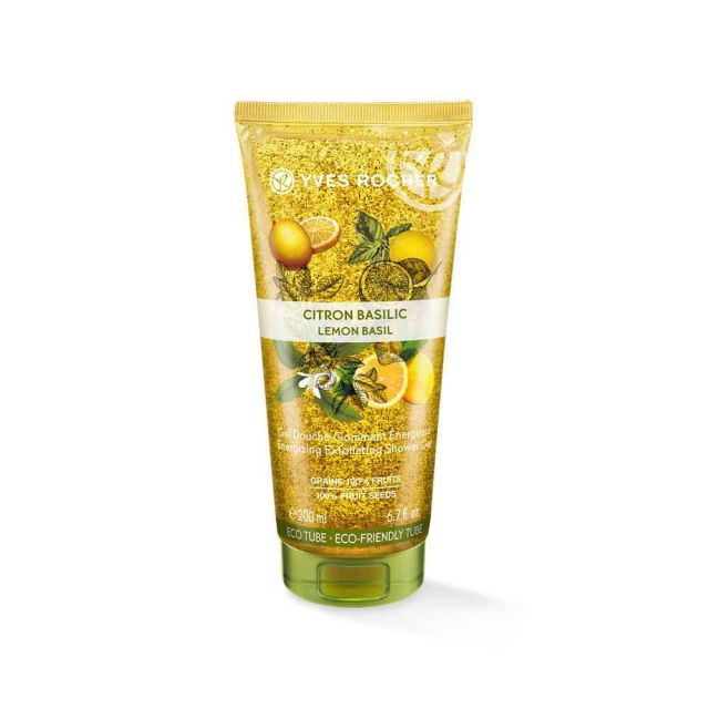 תמונת מוצר - ג׳ל רחצה פילינג בניחוח לימון בזיליקום מסדרת Plaisirs Nature 2 - מחיר המוצר 25.0000 ש״ח