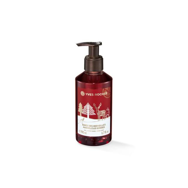 תמונת מוצר - סבון ידיים בניחוח פירות יער וחמוציות מסדרת Christmas 2018 - מחיר המוצר 16.0000 ש״ח