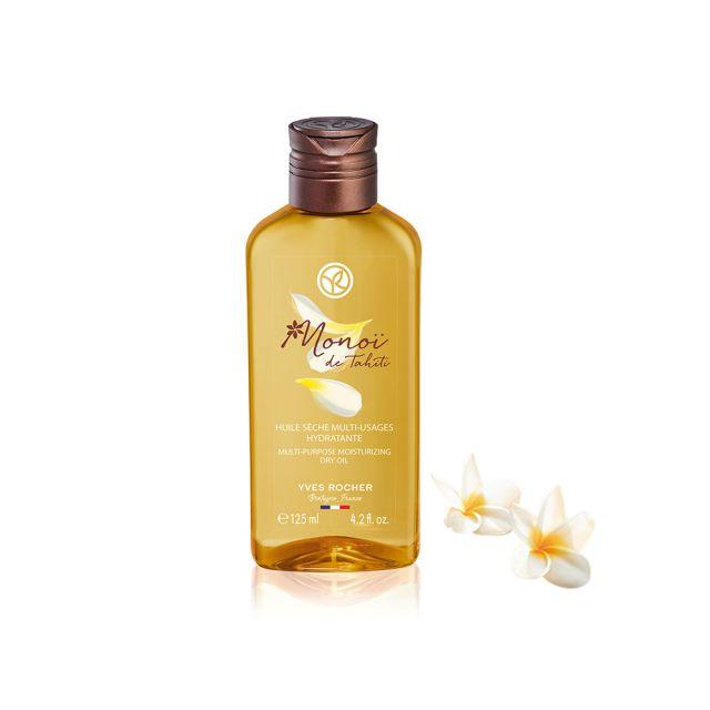 תמונת מוצר - שמן מונוי יבש רב תכליתי לגוף ושיער. מסדרת New Monoi De Tahiti - מחיר המוצר 69.0000 ש״ח