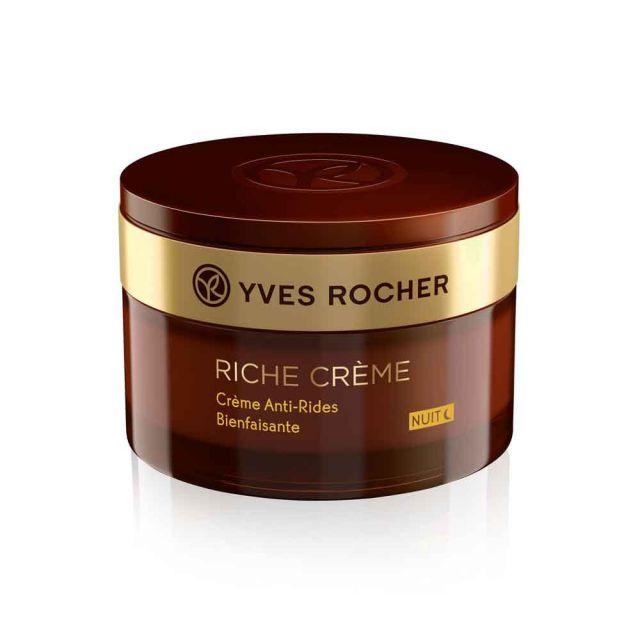 תמונת מוצר - קרם לילה עשיר להפחתת קמטים והזנה מסדרת Riche Creme 2 - מחיר המוצר 219.0000 ש״ח
