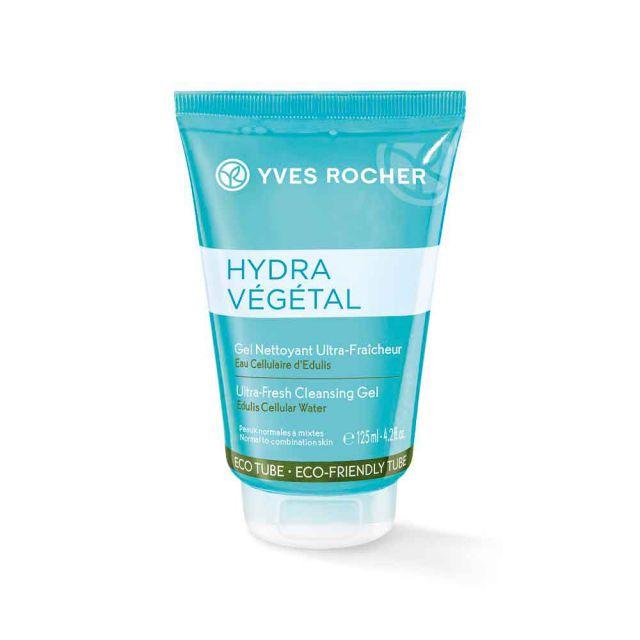 תמונת מוצר - ג׳ל ניקוי רענן לפנים להענקת לחות מסדרת Hydra Vegetal New - מחיר המוצר 55.0000 ש״ח