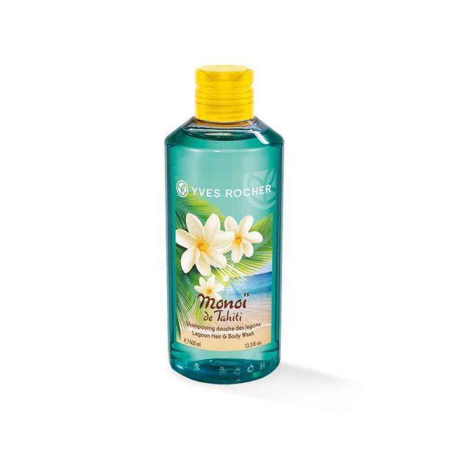 תמונת מוצר - שמפו מונוי מבושם לשיער ולגוף גדול מסדרת Monoi De Tahiti - מחיר המוצר 39.0000 ש״ח