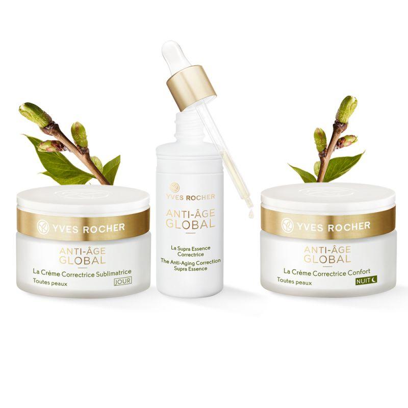 תמונת מוצר - שגרת טיפוח אנטי אייג' גלובל לחידוש והחייאת העור מסדרת Anti Age Global 2 - מחיר המוצר 779.0000 ש״ח