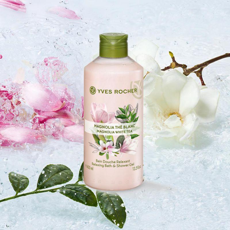 תמונת מוצר - ג'ל רחצה מרגיע בניחוח מגנוליה ותה לבן  גדול מסדרת Plaisirs Nature 2 - מחיר המוצר 25.0000 ש״ח