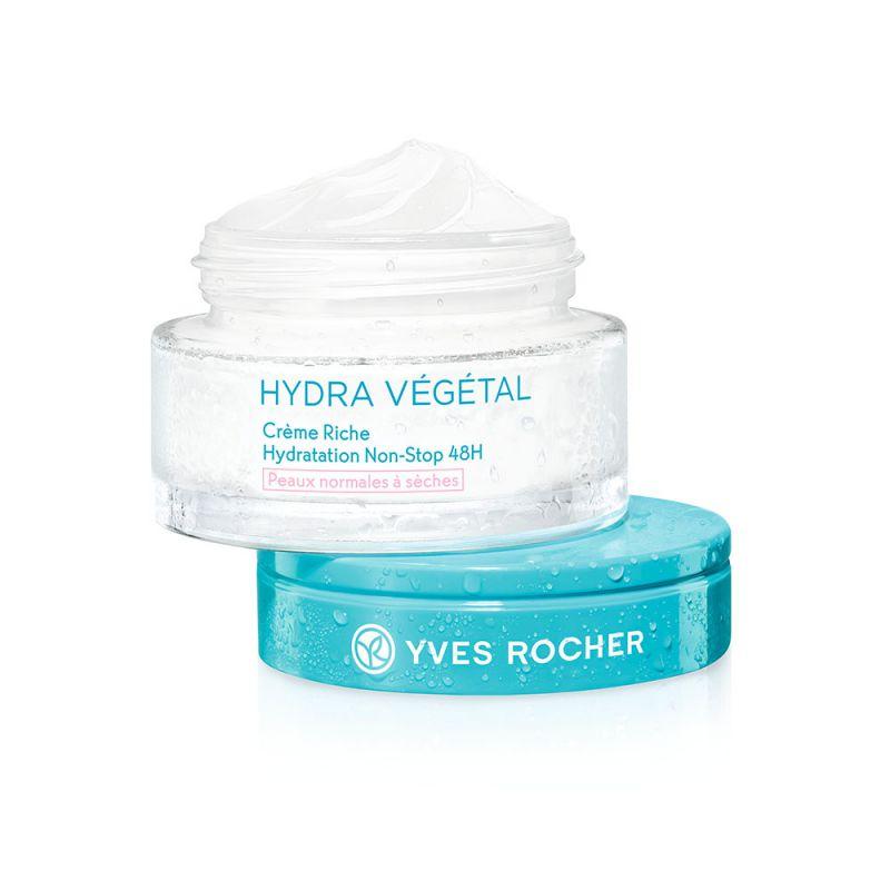 תמונת מוצר - קרם יום ללחות אינטנסיבית 48 שעות לעור יבש מסדרת Hydra Vegetal New - מחיר המוצר 89.0000 ש״ח