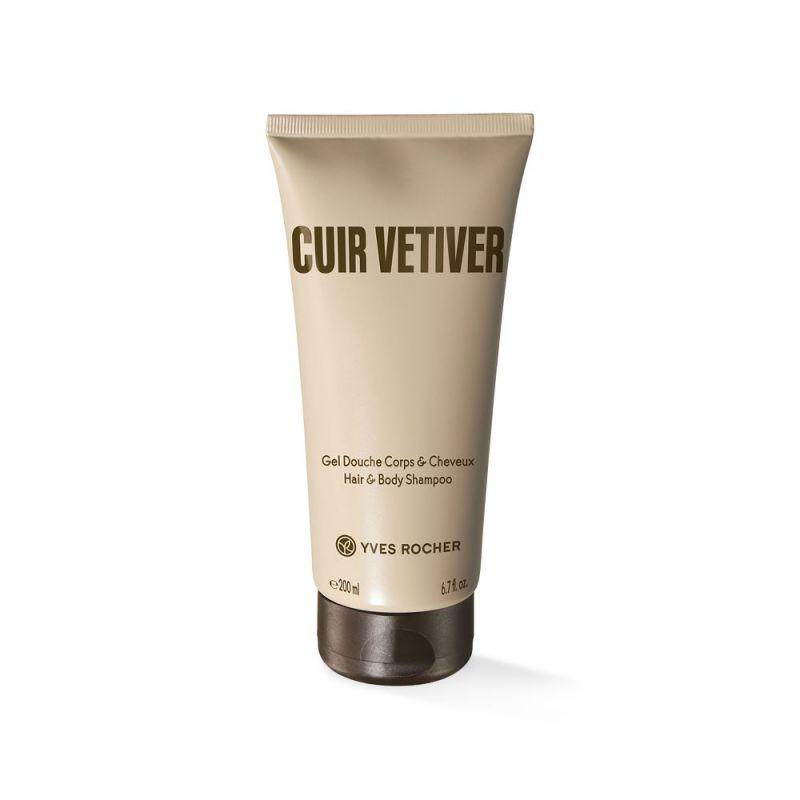 תמונת מוצר - שמפו וג׳ל רחצה בניחוח חושני מסדרת Cuir Vetiver - מחיר המוצר 38.0000 ש״ח