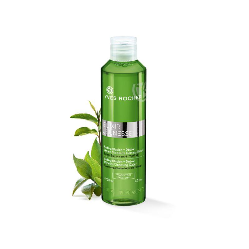 תמונת מוצר - מי ג'ל מיסלר אנטי פולושן להגנה ושיקום העור מסדרת Elixir Jeunesse - מחיר המוצר 65.0000 ש״ח