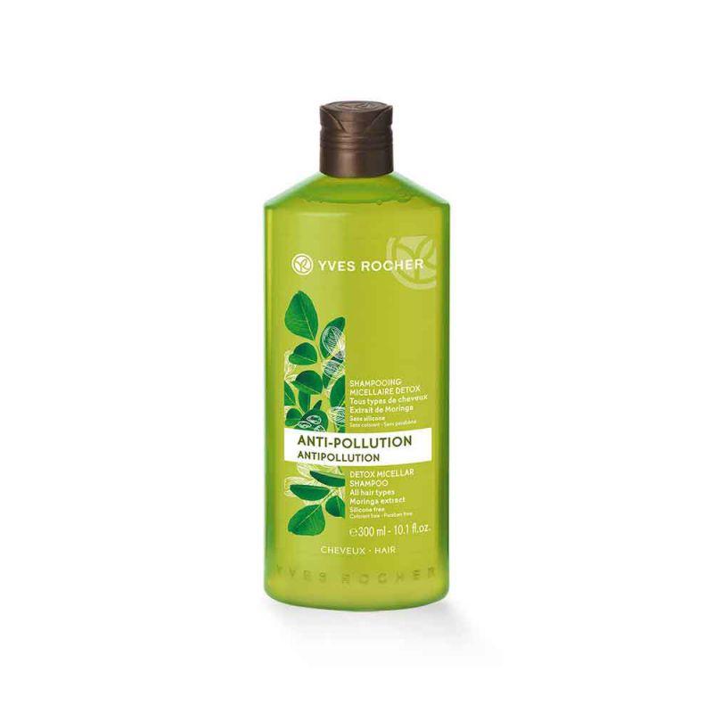 תמונת מוצר - שמפו מיסלר מטהר למראה שיער בריא מסדרת Anti Pollution - מחיר המוצר 22.0000 ש״ח