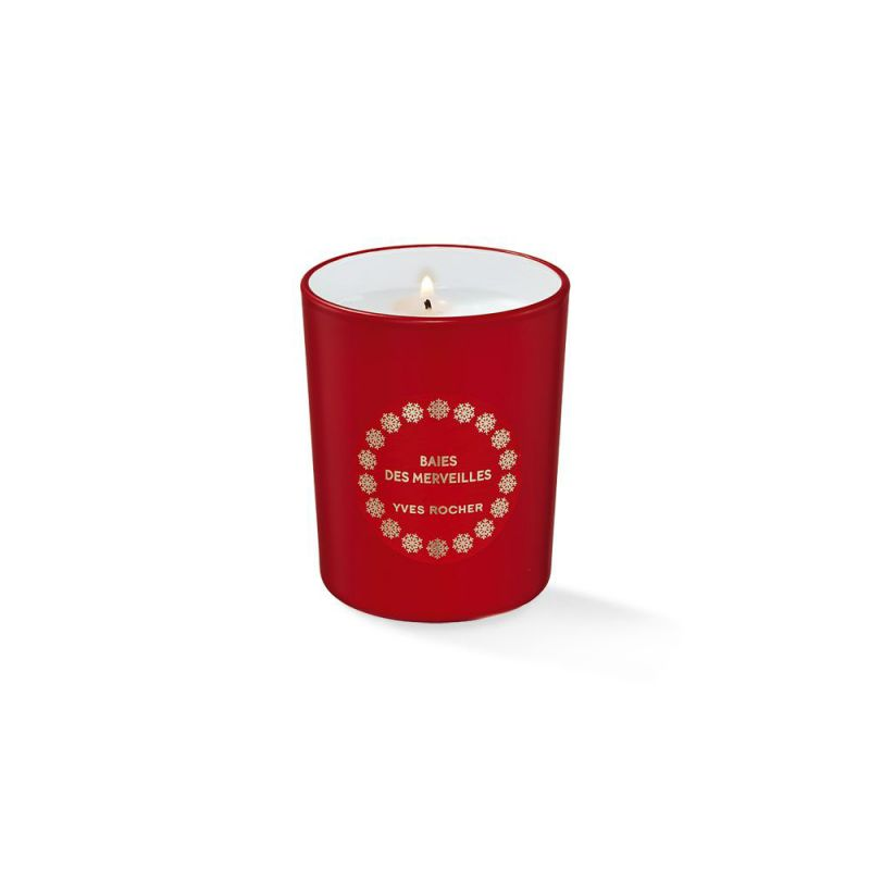 תמונת מוצר - נר מבושם פירות יער וחמוציות מסדרת Christmas 2018 - מחיר המוצר 49.0000 ש״ח