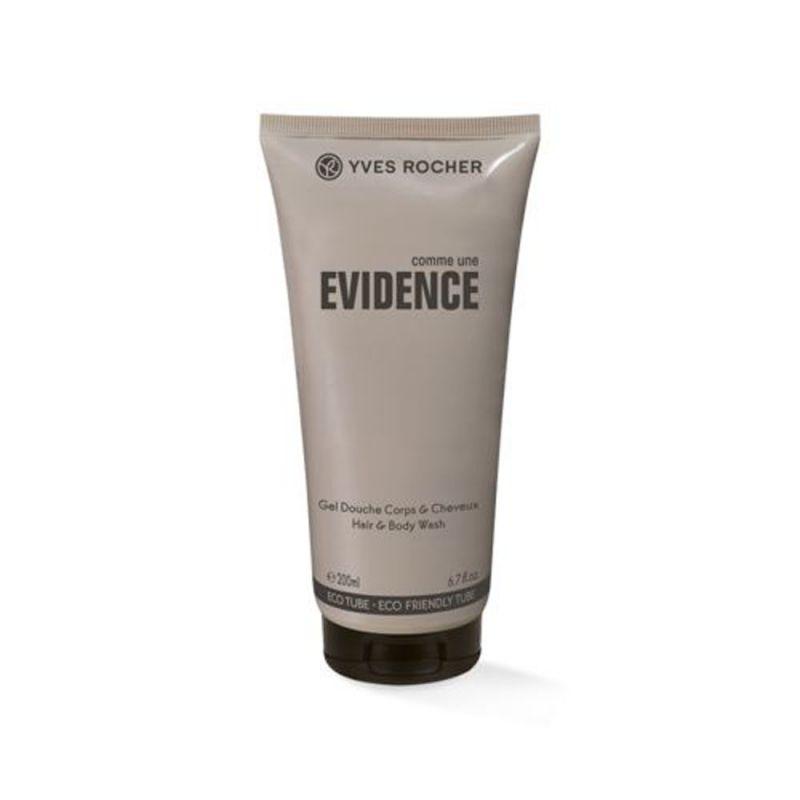 תמונת מוצר - ג'ל רחצה לגוף ולשיער בניחוח אלגנטי מסדרת Evidence - מחיר המוצר 38.0000 ש״ח