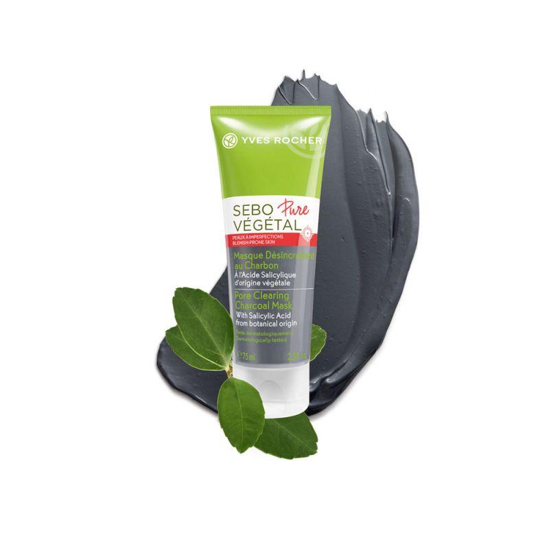 תמונת מוצר - מסכה לניקוי עמוק של הנקבוביות מסדרת Sebo Vegetal Pure - מחיר המוצר 85.0000 ש״ח