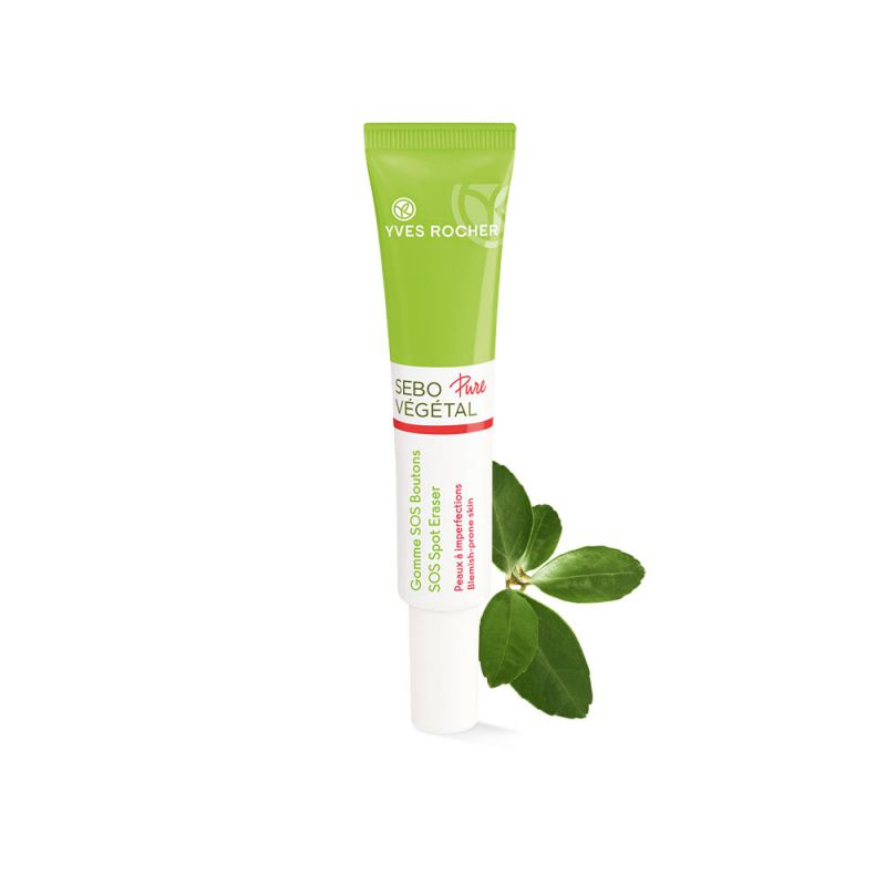 תמונת מוצר - מעלים פגמי אקנה sos מסדרת Sebo Vegetal Pure - מחיר המוצר 85.0000 ש״ח