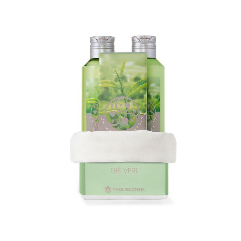 תמונת מוצר - מארז מבושם ומרענן בניחוח תה ירוק באריזה חגיגית מסדרת Un Matin Au Jardin - מחיר המוצר 169.0000 ש״ח