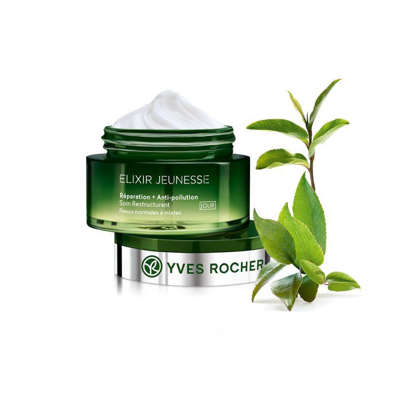 תמונת מוצר - קרם יום אנטי פולושן לעור רגיל מסדרת Elixir Jeunesse - מחיר המוצר 159.0000 ש״ח