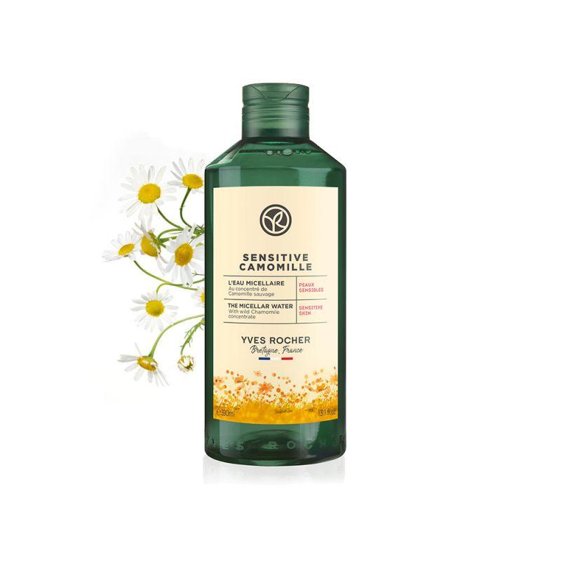 תמונת מוצר - מים מיסלריים לניקוי עור רגיש מסדרת Sensitive Camomille - מחיר המוצר 85.0000 ש״ח