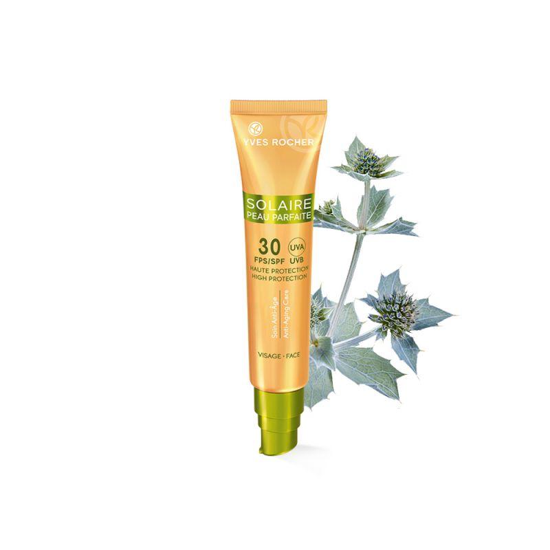 תמונת מוצר - תחליב הגנה מהשמש לפנים אנטי אייג׳ינג SPF 30 מסדרת Solaire Peau Parfaite - מחיר המוצר 105.0000 ש״ח