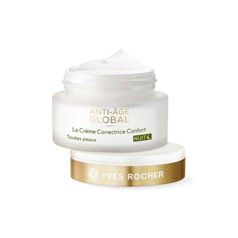 תמונת מוצר - קרם לילה אנטי אייג׳ לחידוש והחייאת העור מסדרת Anti Age Global 2 - מחיר המוצר 250.0000 ש״ח