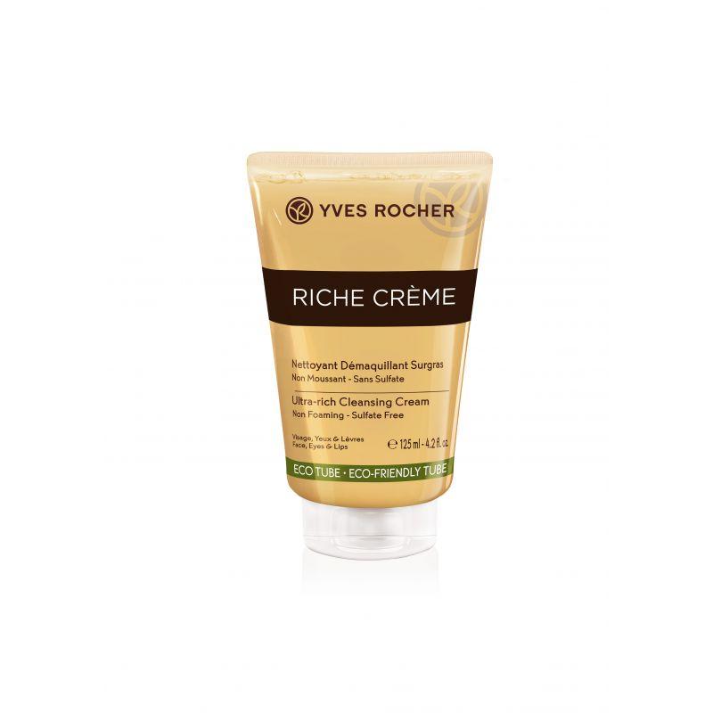 תמונת מוצר - קרם פנים לניקוי ללא הקצפה וללא מלחים מסדרת Riche Creme 2 - מחיר המוצר 75.0000 ש״ח