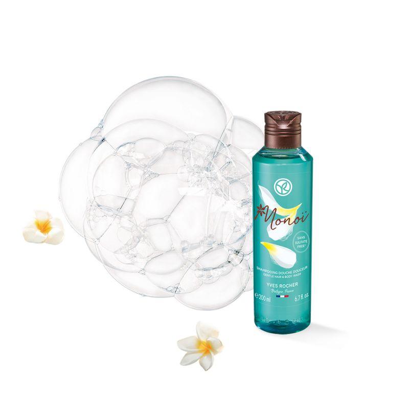 תמונת מוצר - מונוי ג'ל רחצה ושמפו 2 ב 1 מסדרת New Monoi De Tahiti - מחיר המוצר 42.0000 ש״ח