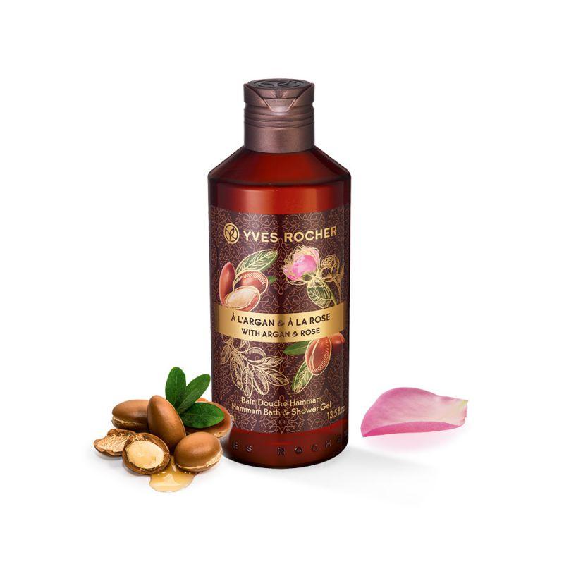 תמונת מוצר - ג'ל רחצה חמאם ורד הארגן מסדרת Plaisirs Nature 2 - מחיר המוצר 25.0000 ש״ח