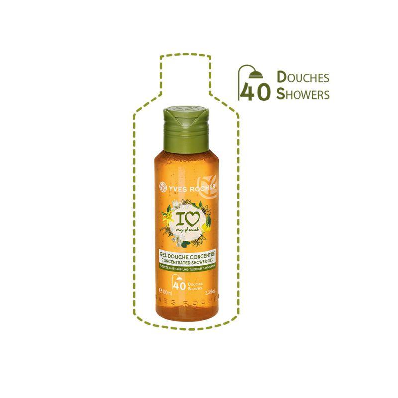 תמונת מוצר - ג'ל רחצה אקולוגי מרוכז בניחוח פרח הגרדניה ושמן וילנג ילנג מסדרת Plaisirs Nature 2 - מחיר המוצר 25.0000 ש״ח