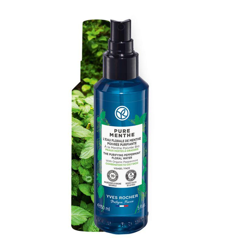 תמונת מוצר - טוהר המנטה מיסט לחות מרענן לעור פנים מעורב הנוטה לשמן מסדרת Pure menthe - מחיר המוצר 75.0000 ש״ח